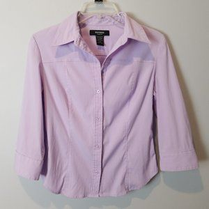 Express lilac purple career blouse 3/4 small